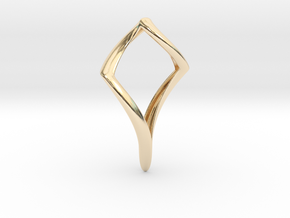 Pike (precious metal) in 14k Gold Plated Brass