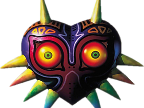 Majora's Mask in White Strong & Flexible