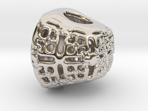 PAh Sharm V21 H11x15x13sSE731cSE61 Wax in Rhodium Plated Brass