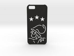 I-phone 6 Case: Ajax Amsterdam in Black Natural Versatile Plastic