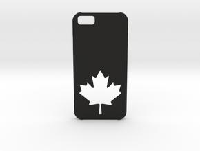 I-phone 6 Case: Canada in Black Natural Versatile Plastic