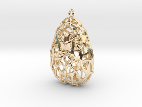 Weave 001 in 14k Gold Plated Brass