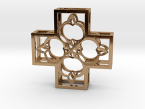 Fractal FR2 75mm in Polished Brass