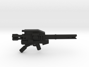 Heavy Trooper Launcher  in Black Natural Versatile Plastic