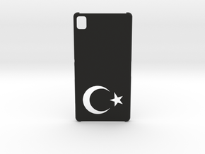 Sony Xperia Z3 Case: Turkey in Black Strong & Flexible