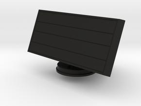 1:96 scale Smart L air search radar in Black Natural Versatile Plastic