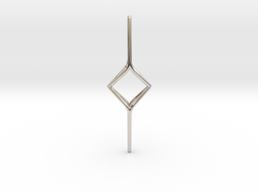 YOUNIVERSAL Y2, Pendant. Soft Chic in Rhodium Plated Brass