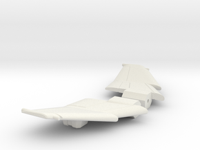 Aerial Reconnoiter Wings in White Natural Versatile Plastic