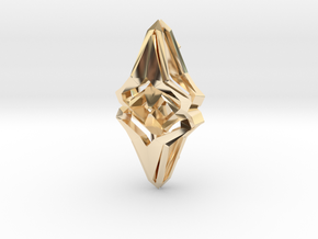 HEAD TO HEAD Origin, Pendant  in 14k Gold Plated Brass