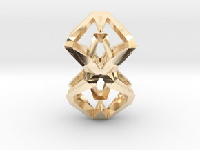 HEAD TO HEAD Perfect Union, Pendant in 14k Gold Plated Brass