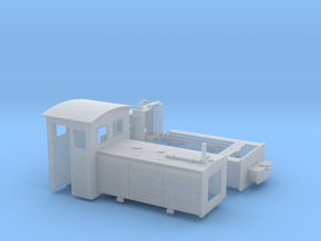 Feldbahnlok LKM Ns3f Spur 0e/0f 1:45 Variante 1 in Smooth Fine Detail Plastic