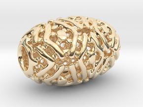 PA Sharm V4 H22x14PE14s1u1v1a10f Wax in 14k Gold Plated Brass
