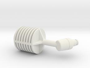 FJ Tech manual version in White Natural Versatile Plastic