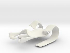 Paper Holder in White Natural Versatile Plastic