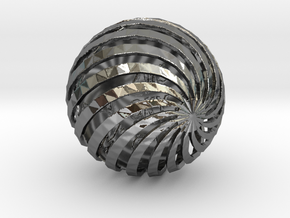 ZWOOKY Style 3407  -  Sphere in Fine Detail Polished Silver