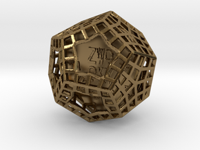 ZWOOKY Style 3416  -  Sphere in Polished Bronze