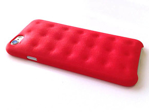 iPhone 6 Tufting cover in Red Processed Versatile Plastic