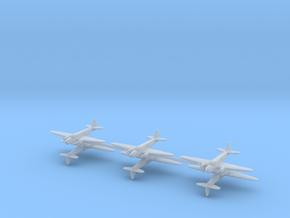 Caproni Ca.309 Ghibli 1/600 (6 airplanes) in Smooth Fine Detail Plastic