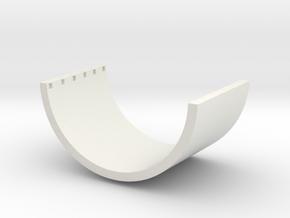 1/87 Betonhalbschale in White Strong & Flexible