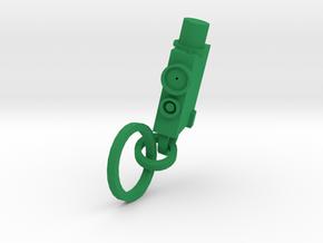JCAD Keychain  in Green Processed Versatile Plastic