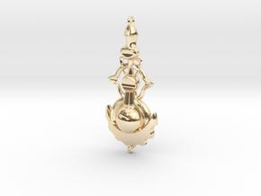 Flip in 14k Gold Plated Brass