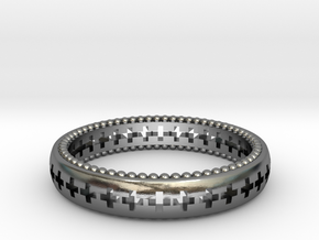 Vargheim Ring Alfa SIZE 10 in Polished Silver