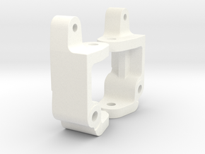 '91 Worlds Conversion - Caster Blocks -5 degree in White Strong & Flexible Polished