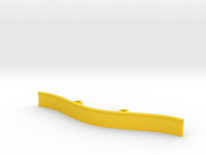 ZMR250 Bumper V4 in Yellow Strong & Flexible Polished