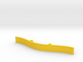 ZMR250 Bumper V4 in Yellow Processed Versatile Plastic