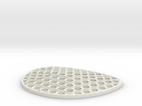 Hexalens B in White Natural Versatile Plastic