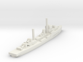 Tachin (Maeklong class Sloop) 1/1800 in White Natural Versatile Plastic