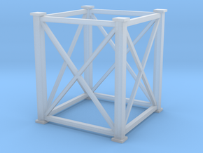 'N Scale' - 8'x8'x10' Tower in Smooth Fine Detail Plastic