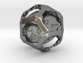 ZWOOKY Style 3424  -  Sphere in Fine Detail Polished Silver