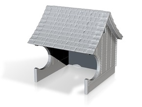 H&F Waiting Station - N scale in Smooth Fine Detail Plastic