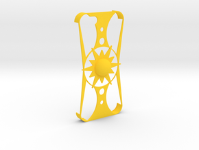 Iphone 5/5S Sun Case in Yellow Processed Versatile Plastic