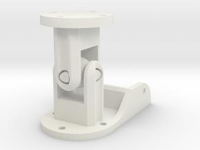 NANO Neck Universal Joint in White Natural Versatile Plastic