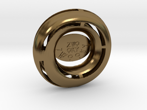 ZWOOKY Style 3431  -  Moebius in Polished Bronze