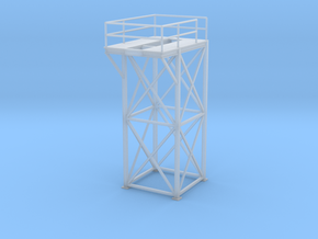 'HO Scale' - 8'x8'x20' Tower Top in Smooth Fine Detail Plastic