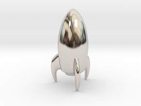 Pawn - F[1,0M/1,1C] Stellar in Rhodium Plated Brass