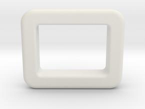 SX350 Screen Bezel 3mm in White Natural Versatile Plastic