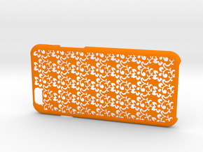 Arabesque iPhone6/6S case for 4.7inch in Orange Processed Versatile Plastic