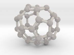 0043 Fullerene c36-15 d6h in Full Color Sandstone