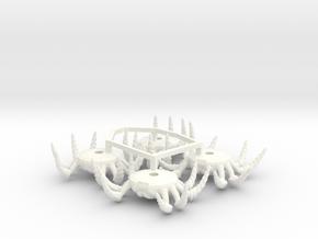 ACC-13-Spiders  6-7inch in White Processed Versatile Plastic
