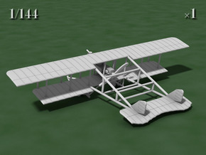 Savoia-Pomilio Farman 1914 in White Strong & Flexible: 1:144