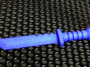 Survival Knife for ModiBot in Blue Processed Versatile Plastic