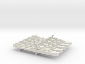 HMS Legion (L/M class) 1/1800 x5 in White Natural Versatile Plastic
