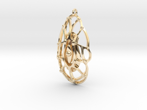 M3 001 in 14k Gold Plated Brass