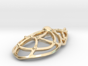 Blend 001 in 14k Gold Plated Brass