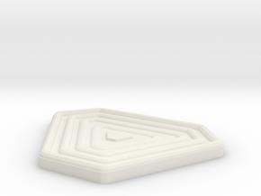 TASM 2 Web-Shooter Button in White Natural Versatile Plastic