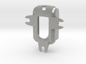 Suction Cup mount holder for Qstarz 818x GPS - 3 P in Metallic Plastic